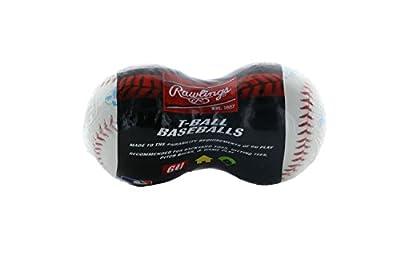 Rawlings YouthTee Ball Baseballs - 2-pack