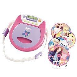 cd player barbie