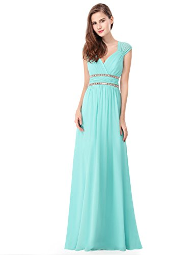 Ever Pretty Women's Sleeveless Grecian Style Bridesmaid Dress 08697