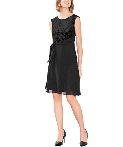 106Eo1E015 Donna Esprit 001 Nero Vestito Black a6xqFBn