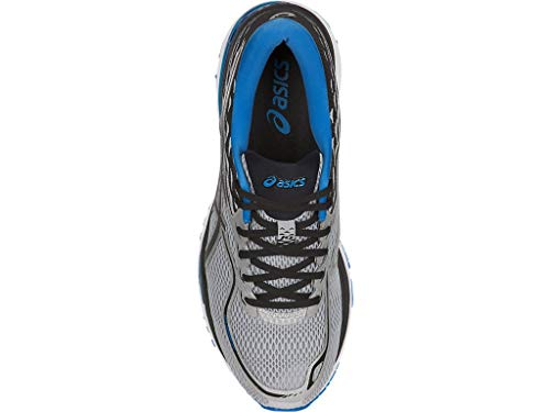 ASICS Mens Gel-Cumulus 19 Running Shoe, Grey/Black/Directoire Blue, 6 Medium US by ASICS (Image #3)