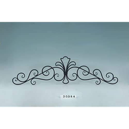Exceptional Decorative Wrought Iron Metal Wall Plaque