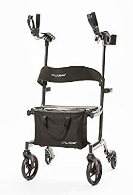 UPWalker Lite Original Upright Walker (Stand Up Rolling Mobility Walking Aid with Seat)