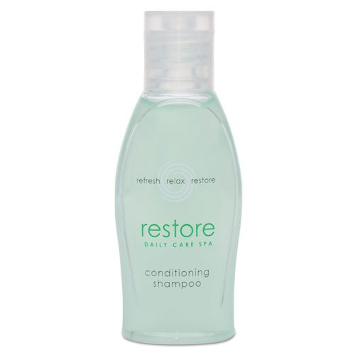 (Dial Amenities - Restore Conditioning Shampoo, Aloe, 1 Oz Bottle, Clean Scent,)