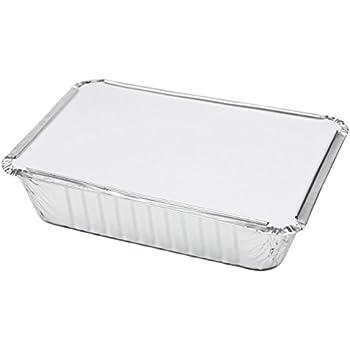 Amazon Com Rectangular Disposable Aluminum Foil Pan Take