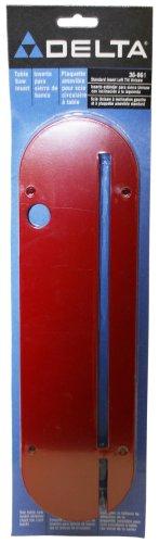 - DELTA 36-861 Standard Table Insert for Left Tilt Unisaws