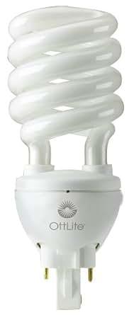 OttLite H34J3K 508 Illumination 25-Watt Self-Ballasted Swirl Bulb