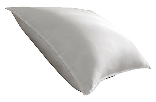 (Spring Air 03515 100% Cotton Double Comfort Pillow with Dual Chambers, Standard/Queen/20