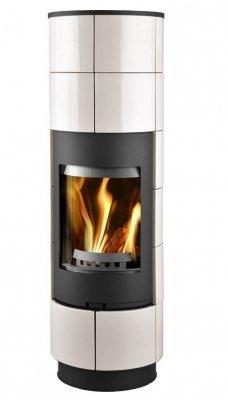 Estufa de leña Thorma Delia diseño de revestimiento - 7,5 kW: Amazon.es: Iluminación