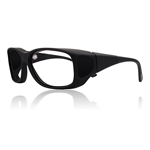 Fitovers Leaded X-Ray Safety Eyewear Radiation Glasses - Black