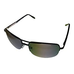 Kenneth Cole Reaction KCR1149-08C Semi-Rimless Gunmetal Sunglasses