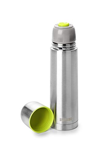 Termo para liquidos - Acero Inoxidable - Tapon dosificador - Ideal para Transportar el cafe - Capacidad 200 ml