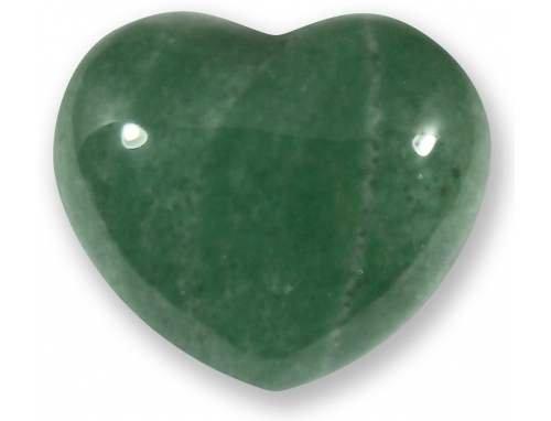 Green Aventurine Crystal Heart - 4cm