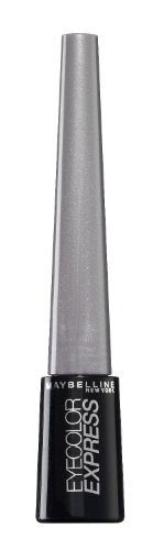 Maybelline New York Eyecolor Express Lidschatten, 6, stylish grey