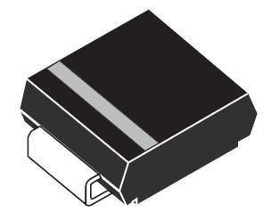 TVS Diodes 50 pieces Transient Voltage Suppressors 600W 22V Bidirect