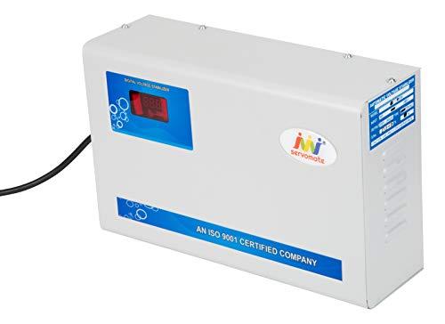 Servomate 4 KVA Automatic Voltage stabilizer for 1.5 ton Split ac and Window ac (110v-280v) Aluminium