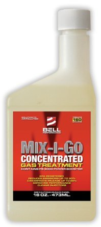 Bell Performance - Mix-I-Go Concentrate Gasoline and Ethanol Treatment - 5 Gallons by Bell Performance
