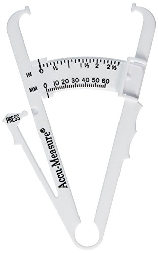 Accu-Measure Fitness 3000 Personal Body Fat Caliper Measurement Tool