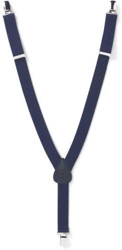Clips N Grips CNg-Susp-Navy-26 Kids Adjustable Elastic Suspenders - 26 in.