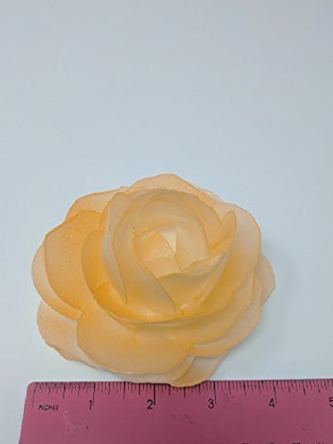 Amazon 3d edible rice paper rose flower for cake decoration 3d 3d edible rice paper rose flower for cake decoration 3d cake toppers orange mightylinksfo