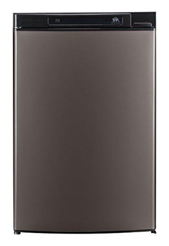 Euro Freezer - NORCOLD INC Norcold N3104AGL 3.7 cu. ft. 1 Door Refrigerator (3-Way AC/LP Euro, Left Hand Door Auto LCD Control Grey Door)
