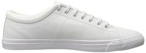 Fred Perry Kendrick Tipped Cuff Leather White blanco