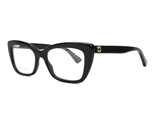 Eyeglasses Gucci GG 0165 O- 001 BLACK -