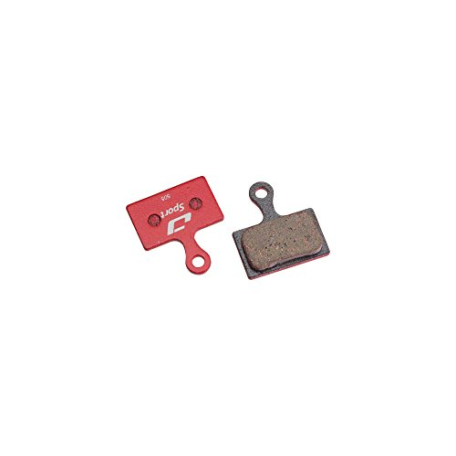 Jagwire Sport Semi-Metallic Disc Brake Pad fits Shimano Road/CX RS805, RS785, RS505, Rever Flat-mount MCX1