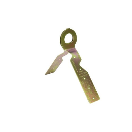 3M Protecta PRO 2103680 Knock-Down Disposable Roof Anchor, for Flat or Sloped Wood Roofs, with Stamped D-ring and Fasteners, Gold, 12-Pack by 3M Personal Protective Equipment