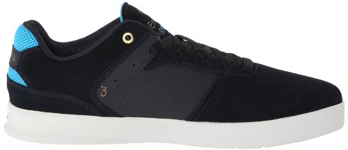 Emerica THE REYNOLDS LOW VULC,Men's Skateboard Shoes Navy/Blue/Gold