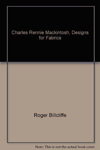 Charles Rennie Mackintosh, designs for fabrics