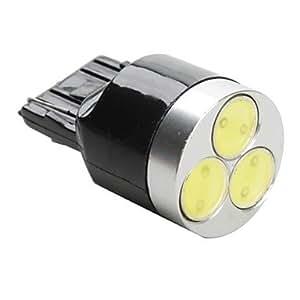 OXOX t20 3W SMD LED bombilla de luz blanca para coche (12V DC)