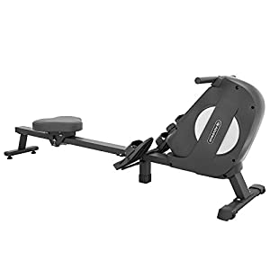 Well-Being-Matters 31bRhhelGML._SS300_ ADVENOR Magnetic Rowing Machine Foldable Rower with LCD Monitor,Device Holder for Home Use