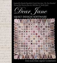 Electric Quilt(R) Company's Dear Jane Quilt Design Software by Electric (Dear Jane Quilt Cd)