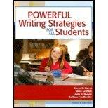 Powerful Writing Strategies for All Students (08) by Harris, Karen R - Graham, Steve - Mason, Linda H - Friedlande [Paperback (2007)] PDF