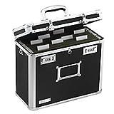 Vaultz Locking File Chest, Letter Size, Black (VZ01187)