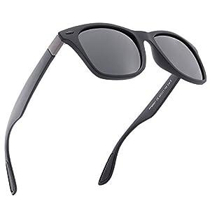 Mens Polarised Sunglasses 100% UV Protection Mens Sunglasses for Driving & Fishing & Sports UV 400