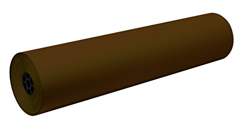 Pacon Decorol Art Paper Roll, 3-Feet by 500-Feet, Dark Brown (100598) by Pacon