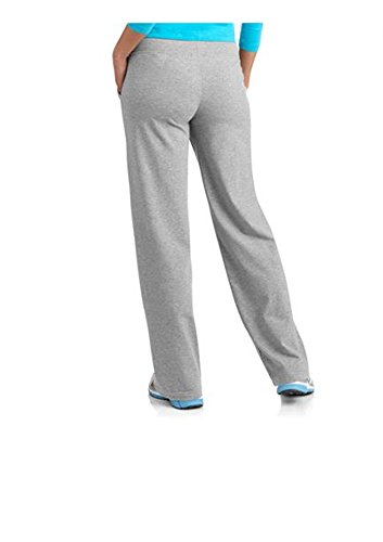 7d8e8dca58c Amazon.com  Danskin Now Women s Plus-Size Dri-More Core Relaxed Fit Workout  Pant - 1X Plus - Gray  Sports   Outdoors