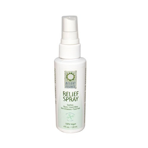 DESERT ESSENCE RELIEF SPRAY,TEA TREE, 4 FZ