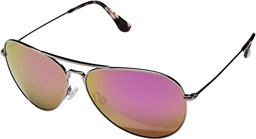 Maui Jim Unisex Mavericks Rose Gold/Maui Sunrise (Pink) Sunglasses by Maui Jim