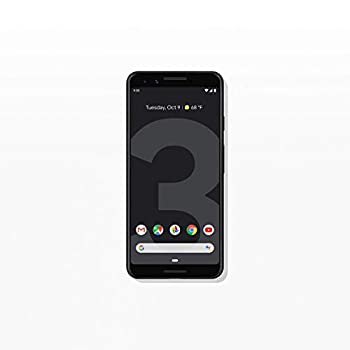 Google Pixel 3 64GB - Just Black (Renewed) Unlocked Cell Phones