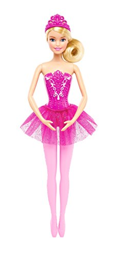 Barbie Fairytale Ballerina Doll, Pink ()