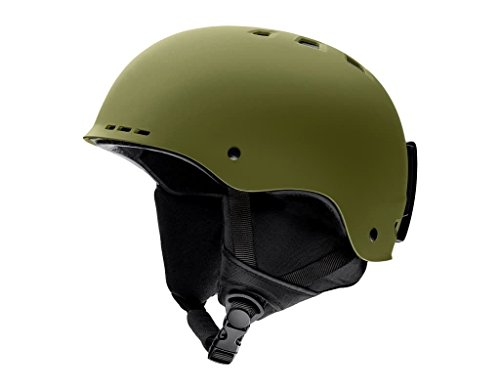 Cheap Smith Optics Adult Holt Ski Snowmobile Helmet – Matte Olive/Small