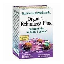 Traditional Medicinals Organic Echinacea Plus Herbal Tea - 16 Tea Bags