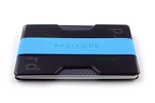 Radix One Slim Wallet (Smoke/Cyan)