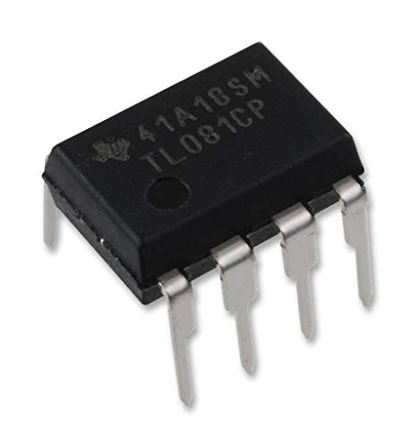 Slew Rate Operational Amplifier - Texas Instruments TL081CP High Slew Rate JFET-Input Operational Amplifier Op-Amp IC Breadboard-Friendly DIP-8 (Pack of 1)