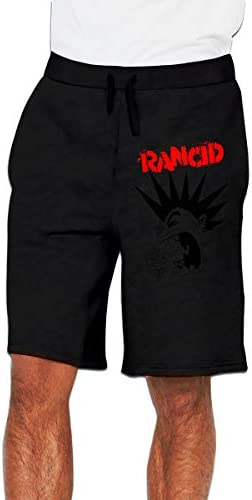 Rancid ランシド ハーフパンツ メンズ ショートパンツ フィットネス トレーニングウェア 吸汗速乾