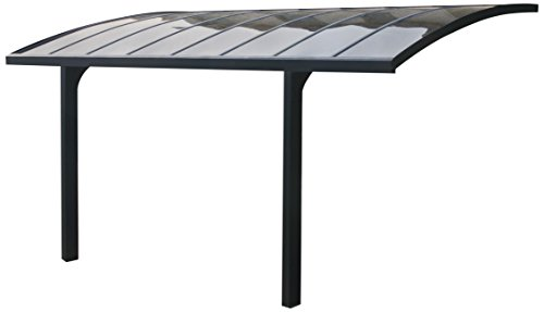 Palram HG9106 Arizona Breeze 5000 Carport (Aluminum Patio Panels Roofing)