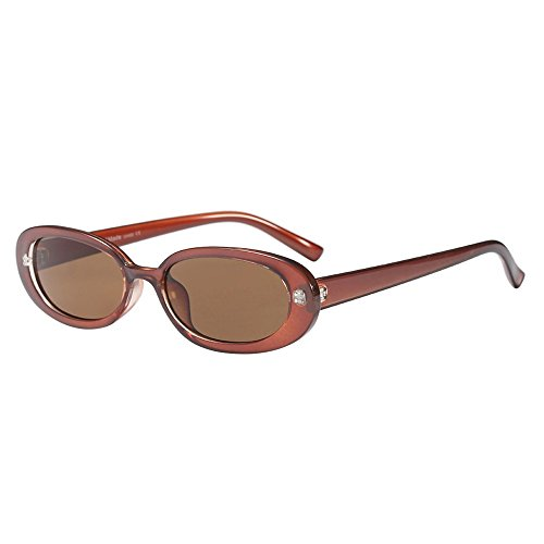 ac9a3600cb3 Beautyfine ❤ Small Oval Frame Sunglasses Fashion Vintage Retro Eyewear